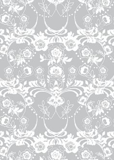Lace Damask- Hackney & Co. Lace Background, Background Patterns, Stencil Patterns, Print Patterns, More Wallpaper, Window Art, Scrapbook Designs, Hand Illustration, Stuffed Animal Patterns