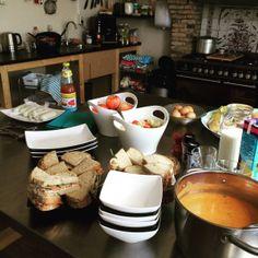 Huur de vergaderruimte inclusief heerlijke lunch bij De keuken van Yvette