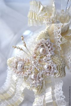 "Брошь ""Бабочка"". Handmade."