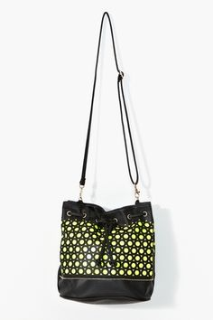 Seeing Spots Bag in Yellow