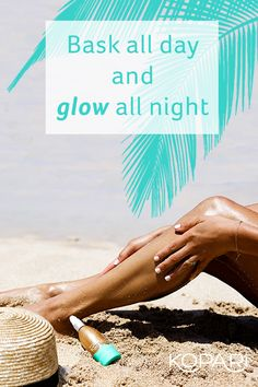 Slather on some summer with this lightweight shimmer oil formulated to improve skin absorption and reduce the greasy after-effects of regular coconut oil. This beachy beauty moisturizes, nourishes and instantly illuminates your skin with natural pearlescent minerals. It's glow time. Find it at KopariBeauty.com.