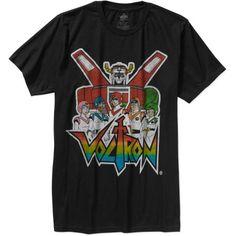736467b71 Movies & TV - Dreamworks Voltron Mens Graphic Short Sleeve T-Shirt - Walmart .com