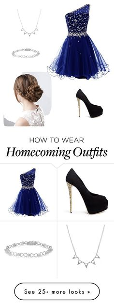 """Prom with Michael"" by julymadison on Polyvore featuring Giuseppe Zanotti"