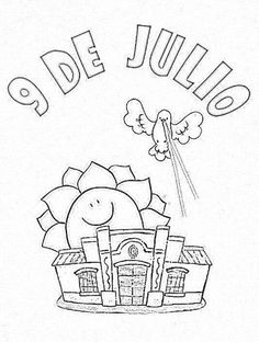 Día de la independencia de Argentina 9 de Julio Plants Vs Zombies, Kindergarten, Homeschool, Teaching, Education, Fictional Characters, Ideas Preescolar, Ideas Para, Minions