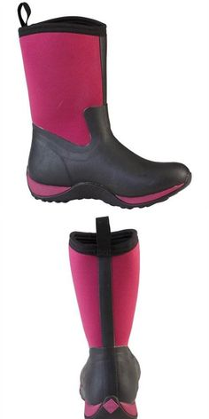 Muck Boots Womens Arctic Weekend: Usually wear a 9 and size 9 was too large. Love the boot. Very comfortable and warm. Muck Boots, Riding Boots, Arctic, Rubber Rain Boots, Warm, Fitness, Sports, How To Wear, Women