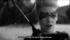 P!nk (Pink), Blow Me (One Last Kiss) Quote (About black and white, break ups, breakups, cry, crying, dying, gifs, love, tears)