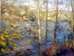 lake  60x80 oil on canvas