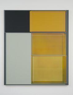 "Patrick Wilson, ""Bus Stop"", 2011, Acrylic on canvas, 66"" x 57"""