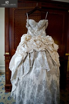 Ok, definitely not my style, but just too absurd not to share! Kim Zolciak's wedding dress.