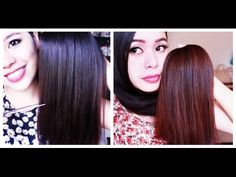 DIY Natural Hair Lightener- How to Get Highlights on your Hair Without Damage For Dark Hair - YouTube