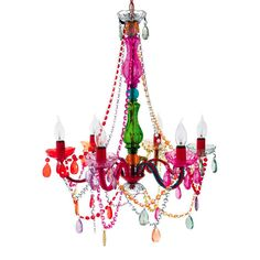 Chandelier Gypsy Multi-colour - iconic.co.nz | NZ Design | Art & Objects | Lighting | Homewares | Gifts
