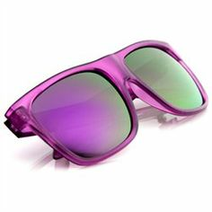 #ZeroUV                   #ApparelApparel Accessories                         #Retro #Fashion #Frosted #Color #Wayfer #Style #Sunglasses #Color #Mirror #Lens                         Retro Fashion Frosted Color Wayfer Style Sunglasses w/ Color Mirror Lens                                http://www.seapai.com/product.aspx?PID=7178574
