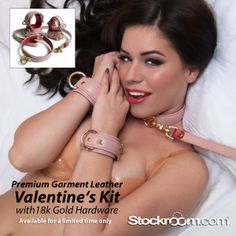 NEW Vintage Pink Premium Garment Leather Valentine's Day Kit! Available for a limited time!