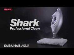 Vaporizador Shark Professional Clean - Polishop - YouTube