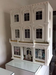 victorian Department store by Dolls House Grand Designs (jt-take a look at the fabulous interior pinned alongside.pic1of 2)