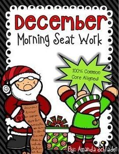 Help students master the 2nd grade Common Core with this quick, thorough, and engaging daily review. This packet includes 20 pages of Christmas themed math and ELA seat work. It is 100% Common Core aligned. All you have to do is print! This resource is an excellent daily review of essential 2nd grade common core standards. It is great for a morning settling in time, independent work, or even homework.