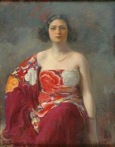 Ramón Casas. Trini,1916