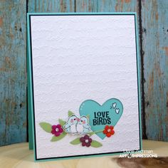Hello Ai friends and happy Monday!       Today I am sharing a card using one of the Ai  Store Exclusives Sets . Here I used  AiCS27- Love B...