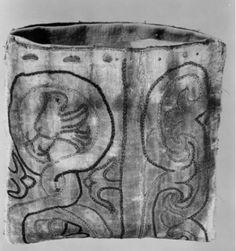 BALaT KIK-IRPA. Reliquary purse. Taffetas (?) and silk, chainstitched. Western Europe, 1201-1300. Object number 10128628.