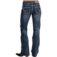 Shop Women's Rock N Roll Cowgirl Medium Wash Riding Jeans