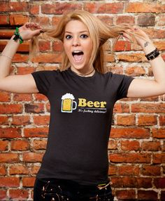 Ladies Tshirt Beer Sister Gift Mom Gift Valentine's by store365