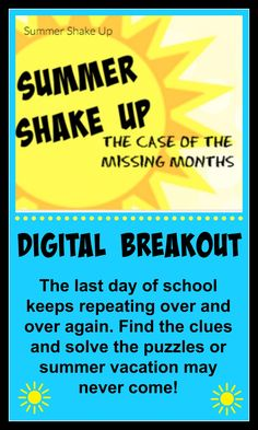 Perfect for the last weeks of school! A Breakout/Escape activity is similar to a scavenger hunt. Students have to solve puzzles in order to open a box that is locked with several different types of locks. A digital breakout uses a Google Form instead of a box and students must input all of the lock codes correctly in order.