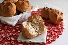 Panini+integrali+Bimby+-+ricetta+facile Panini, Crackers, Oreo, Muffin, Pizza, Breakfast, Food, Homemade Breads, Biscotti