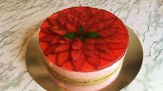 Клубничный Торт Без Выпечки(Вкусный и Легкий)/Торт с Клубникой/Strawberr...