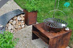 Kreatywnie - w domu i w ogrodzie: Zardzewiała sztuka ogrodowa