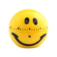 New Kitchen Cooking Timer Alarm 60 Minute Smile Face