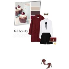 A fashion look from October 2015 featuring MANGO blouses, Valentino tops and Zara coats. Browse and shop related looks.
