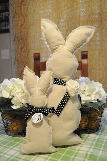 Literally.       A basket filled with the sweetest little stuffed bunnies.       Scrappy little friends, who are fun and easy to assembl...