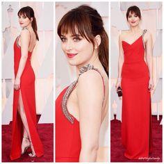 Dakota Johnson Oscars 2015 Best Dressed