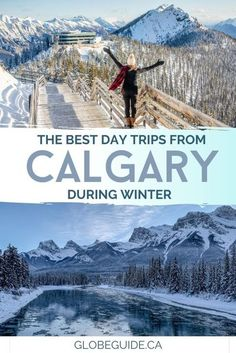 Outdoor activities like hiking, skiing, dog sledding, ice climbing and even fossil hunting can be enjoyed during one of these easy day trips from #Calgary. #Alberta | #Travel | #Canada | #Banff | #Photography Banff Photography, Alberta Travel, Chateau Lake Louise, Fossil Hunting, Visit Canada, Ice Climbing, The Beautiful Country, Banff National Park, Canada Travel