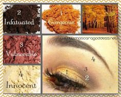 Fantastic Fall look!  Great if you love neutrals!  These colors blend beautifully together!  www.mascaragoddess.net
