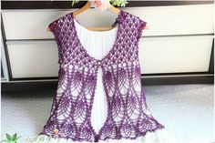 crochet summer sweater and jacket for ladies | make handmade, crochet, craft
