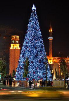 Christmas in Albania.
