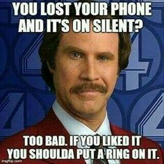 .... I thought this was so freaking funny and but then I stopped laughing and remembered that my phone was on silent so I quickly turned it back on lol
