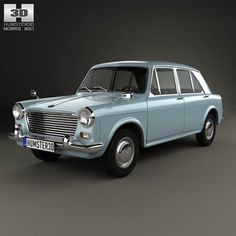 Morris 1100 (ADO16) 1962 3d model from humster3d.com. Price: $75