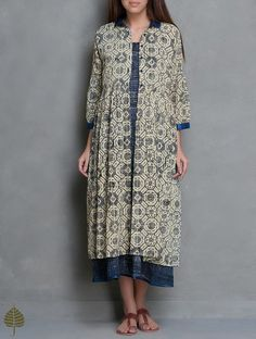 Cotton Dress with Jacket Set (inspiration)