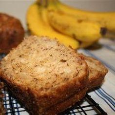 Banana Sour Cream Bread Recipe and Video