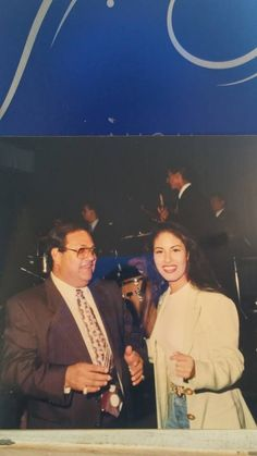 Selena and her father Abraham