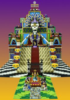 LEGO Day of the Dead | by Brickbaron