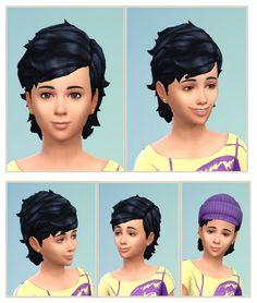Little Conny Hair at Birksches Sims Blog via Sims 4 Updates