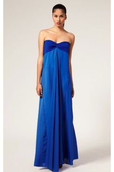 Allure Sheath Ankle-length Strapless Sleeveless Chiffon Prom Dresses