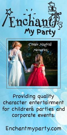 Invite Elsa to your kid's BD party. Savannah birthday party princesses for hire from Enchant My Party in Savannah, Ga. Details: http://www.southernmamas.com/2014/savannah-birthday-party-princesses-for-hire-offer-fairy-tale-entertainment/