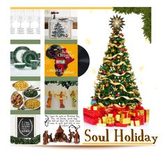 Holiday Party: Soul Holidays by tailormadelady on Polyvore featuring polyvore, interior, interiors, interior design, home, home decor, interior decorating, Williams-Sonoma, 222 Fifth, Villeroy & Boch, Avanti, Pfaltzgraff, NOVICA, Kurt Adler and kitchen
