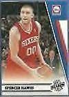 2010-11 Panini Season Update #25 Spencer Hawes 76ers #'D 8/99