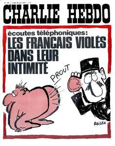Charlie Hebdo: le copertine di Reiser e Wolinski