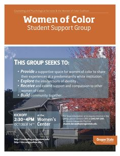 Queer Studies MA Minor Megan Spencer is the organizer for the Women of Color Coalition at Oregon State University.